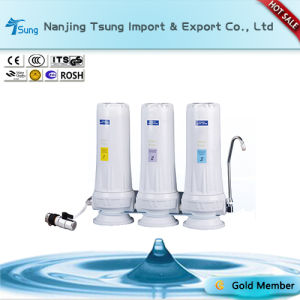 Three Stage Counter Top Water Filter pictures & photos
