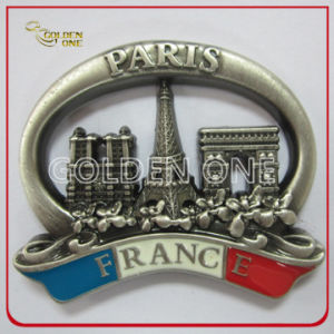 High Quality 3D Soft Enamel Souvenir Metal Fridge Magnet pictures & photos