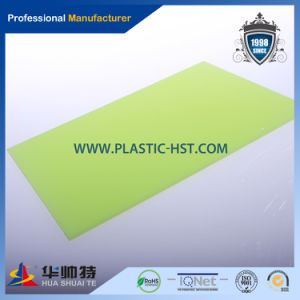 Opaque/Green/Red/Blue Color PC Solid Lexan Polycarbonate Sheet pictures & photos