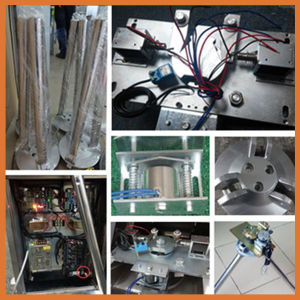 RFID Card Reader Bi-Directional Semi-Automatic Tripod Turnstile Three Arms Gate Reader pictures & photos