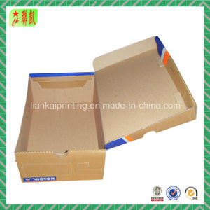 Brown Kraft Printed Corrugated Shoe Box Factory pictures & photos