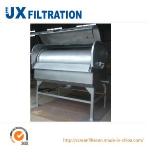 Wastewater Dewatering Rotary Drum Type Filter pictures & photos