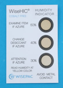 30%-50% Copper Cobalt Free (HIC) Humidity Indicator Card (WiseHIC) pictures & photos