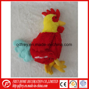 Hot Sale Plush Rooster Toy for Baby Playing pictures & photos