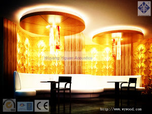 MDF 3D Wall Panel for Hotel Decoration (NO213GPSS18) pictures & photos