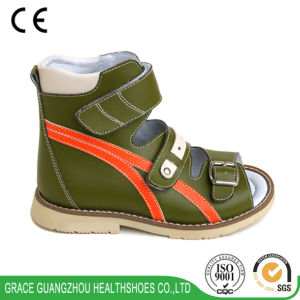 0636d2c2f6 China Leather Children Sandal Orthopedic Sandal Health Kid Sandal ...