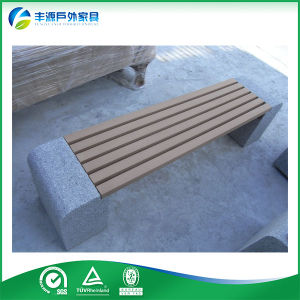 Hdpe Bench Chair With Concrete Park Bench Legs Fy 094x