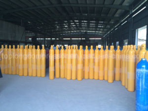 150bar /200bar High Pressure Seamless Steel Oxygen Nitrogen Hydrogen Argon Helium CO2 Gas Cylinder CNG Cylinder pictures & photos