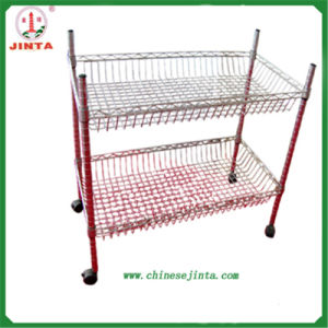 2 Layer Mini Wire Shelf for Kitchen Use (JT-F06) pictures & photos