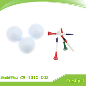 High Quality Colorful Two Layer Tournament Golf Ball