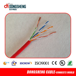 LAN Cable Cat5e with CE RoHS ISO UL pictures & photos