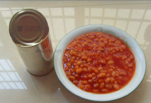 Canned Food Canned Baked Bean in Tomato Sauce pictures & photos