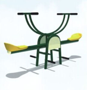 Outdoor Fitness Equipment Seesaw with CE (12166E) pictures & photos