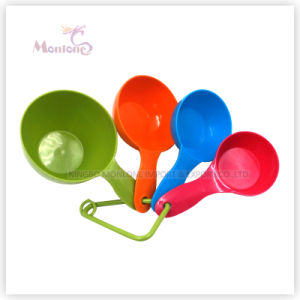Kitchen Utensils 4pk Colorful Food Grade ABS Measuring Spoon pictures & photos