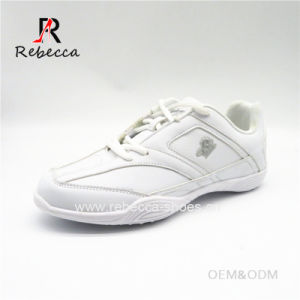 China All White Cheer Shoes Factory