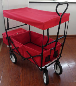 China Folding Utility Wagon With Canopy For Kids China Beach