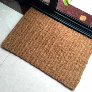 Hand Loom Handmade Non Brush Woven Inlaid Creel Corridor Hollander Panama Coco Coir Coconut Fiber Rugs