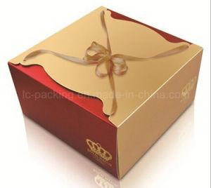 Super China Gold Cardboard Square Birthday Cake Box Cake Packing Box Funny Birthday Cards Online Inifofree Goldxyz