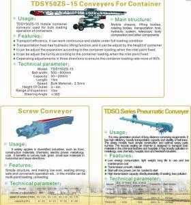 Series Belt Conveyor for Loading Container pictures & photos