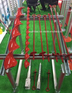 Steel Frame Garden Use Manual Earth Auger, Ground Anchor