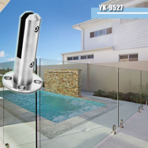 Swimming Pool Stainless Steel Glass Balustrade Spigot (YK-9527)