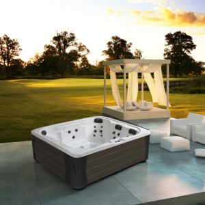 Monalisa Europe Design Outdoor Whirlpool Hot Tub (M-3384) pictures & photos