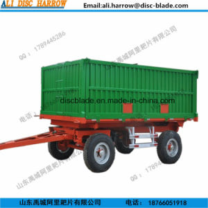 Hot Sale 7CS-8 Farm Trailers for Tractor with High Quality pictures & photos