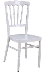 White Party Hotel Wedding Banquet Rental Wood Napoleon Chair pictures & photos