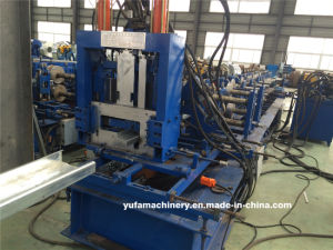 Hydraulic Cutting CZ Purlin Cold Roll Forming Machine Price