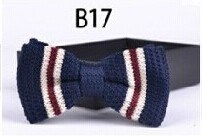 New Design Fashion Men′s Knitted Bowtie (B17) pictures & photos