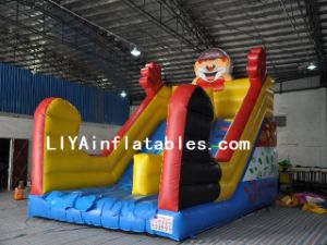 Inflatable Clown Slide (LY07167)