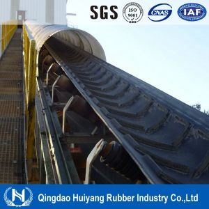 V Type Patterned Chevron Rubber Conveyor Belt