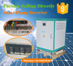 65kw Pump Motor Three Phase Solar Pump Inverter with MPPT400-800V pictures & photos
