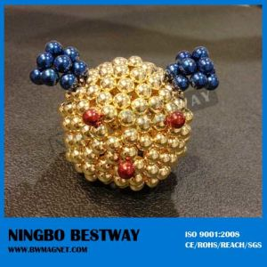 Original Puzzle Children Magnet Ball Toy/Nandots/Construction Magent Toy pictures & photos