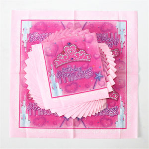 Disposable Party Paper Napkin for Birthday pictures & photos