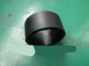 Q235 Steel Black Cylindrical Shaft Sleeve