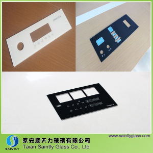 Tempered Touch Screen Glass panel for Display