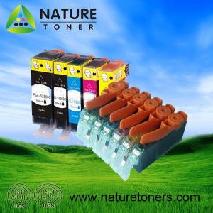 PGI-125BK, CLI-126BK/C/M/Y/GY Compatible Ink Cartridge for Canon Printer pictures & photos