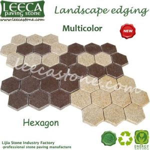 Leeca Hexagon Granite Paving Stone /Patio Paver