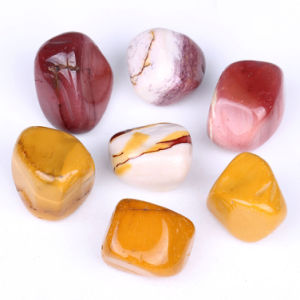 Semi Precious Stone Gemstone Tumbled Nugget Crafts (ESB01674) pictures & photos