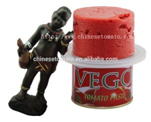 Aseptic and Organic Canned Tomato Paste (size 70g 210g OEM brand) pictures & photos
