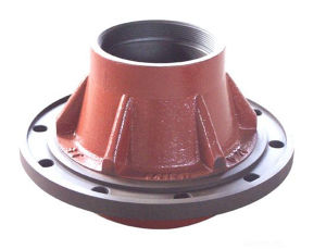 Auto Spare Parts Cast Iron Truck Wheel Hub