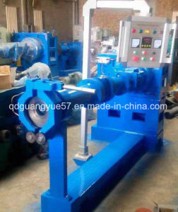 Rubebr Cold Feed Extrusion Machine Line pictures & photos