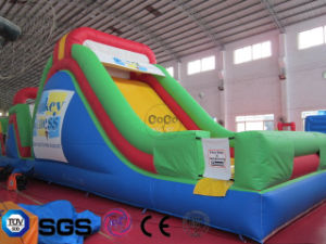 Coco Water Design Inflatable Colorful Obstacle Slide Castle LG9058