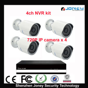 4PCS 720p IP Cameras & NVR 4 Channel NVR Kit pictures & photos