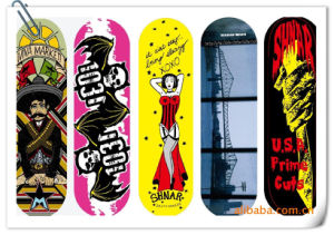Korea Quality Factory Price Heat Transfer Printing Film for Skateboards pictures & photos