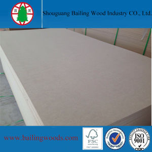 1220*2440mm Light Color Raw MDF for Sale