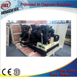 Air Cooling High Pressure Rotary Air Compressor with Certificate pictures & photos