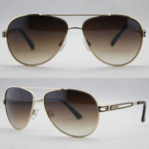 Fashion Polarized Quality Metal Sunglasses with CE Certification (14144)