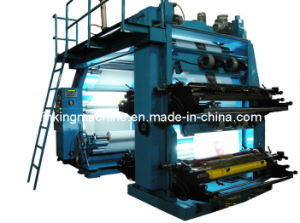 Plastic Film and Paper Flexographic/Flexo Printing Machine/Printer pictures & photos